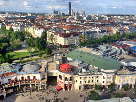 Wien vom Riesenrad im Prater